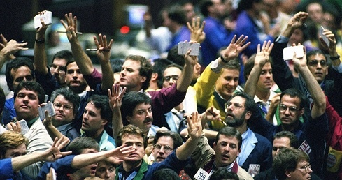 Stock-brokers-at-work