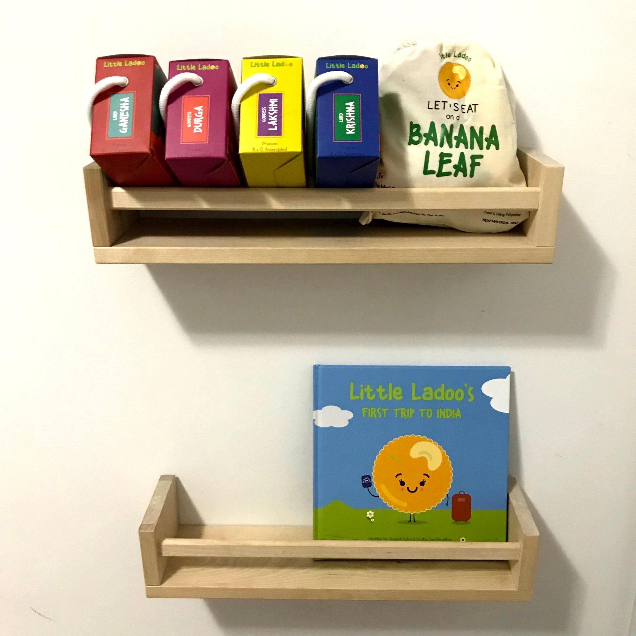 4 - book shelves