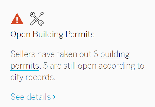 Building Permit Screenshot