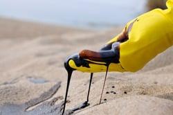 Oil spill hand