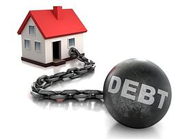 House with debt chain