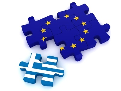 Greece breaking with euro zone