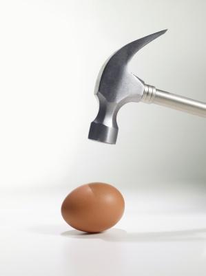 Hammer and egg
