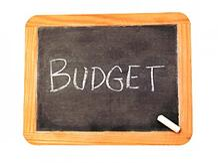 budget blackboard