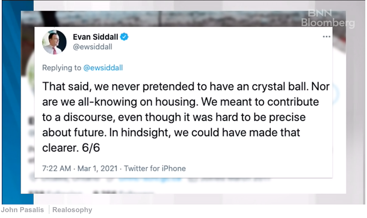 Siddall apology Twitter