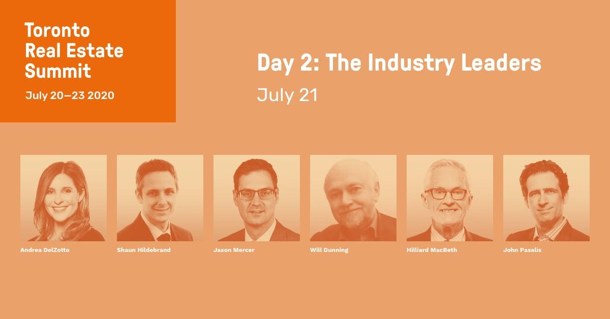 Toronto Real Estate Summit - Industry Leaders