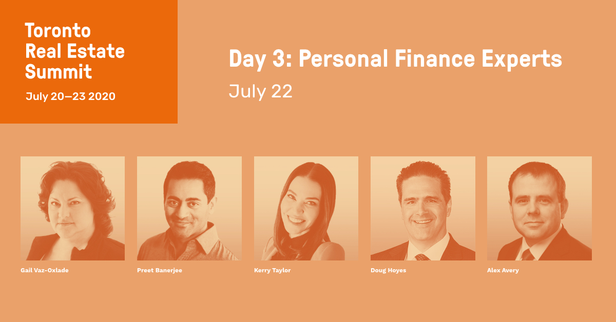 Toronto Real Estate Summit - Personal Finance Experts