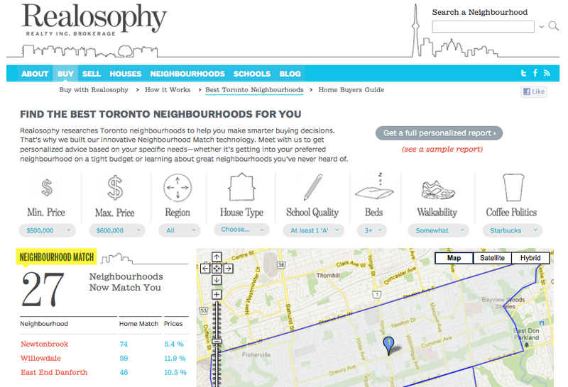 Realosophy Neighbourhood Match Screenshot