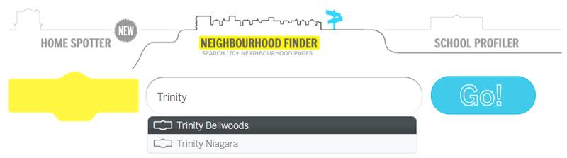 Neighbourhood Profiles Search