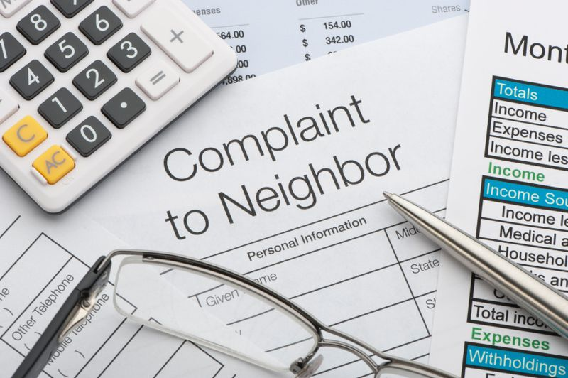 Neighbour complaint